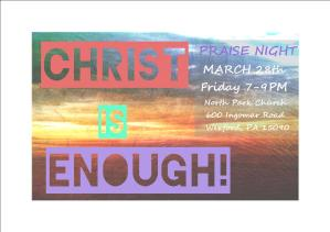 CHRIST IS ENOUGH!